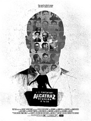 "18""x24"" limited edition Alcatraz Reunion movie poster"